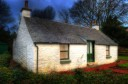 cottage, whitewash, Loch Lomond, Luss, traditional