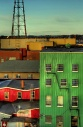 Colourful Sydney, Nova Scotia.