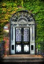 46 Fitzwilliam Square, Dublin - Most photographed door.