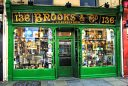 Traditional Shop Front - Lower Baggot Street, Dublin, Ireland. Brooks & Co