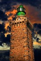 Lighthouse at Cap Frehel, Brittany, France.