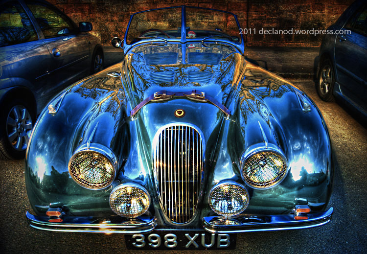 1951, automobiles, autos, British, declanod, car photography, pictures, photos, pics, cars, collectable, hdr, collectible, England, green, Jaguar, racing, sports cars, UK, vintage, xk1201951 Jaguar XK120 Open Two Seater classic England