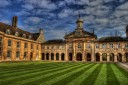 Halls of Academe - Christ's College, Cambridge, England.