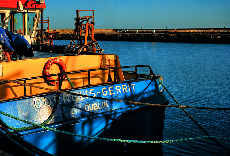 Harbour Colours, Howth, County Dublin, Ireland