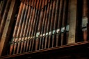 Organ pipes - Church of St James, Chipping Campden, Cotswolds, England