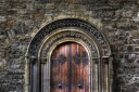 Twelfth Century doorway - Christ Church Cathedral - Dublin