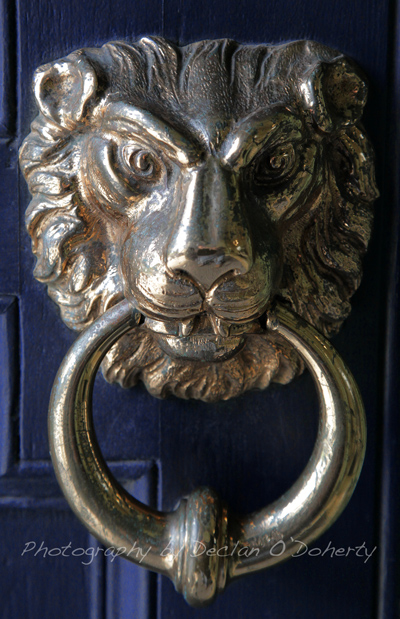 Door Knocker - Hugh Lane Gallery, Dublin.