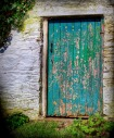 Green door - Moville, County Donegal, Ireland