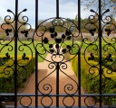 Wrought iron gate - Marlay Park, Rathfarnham, Dublin