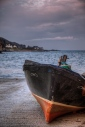Boat at Moville, County Donegal, Ireland