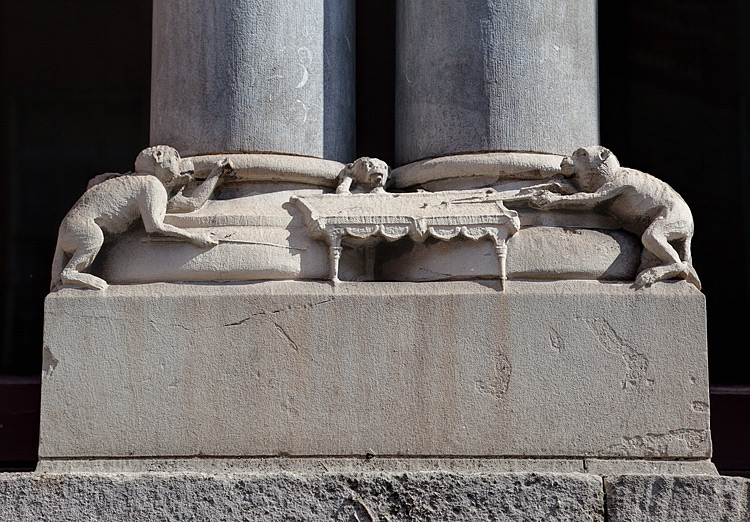 Stone Carvings - Kildare Street Club, Dublin