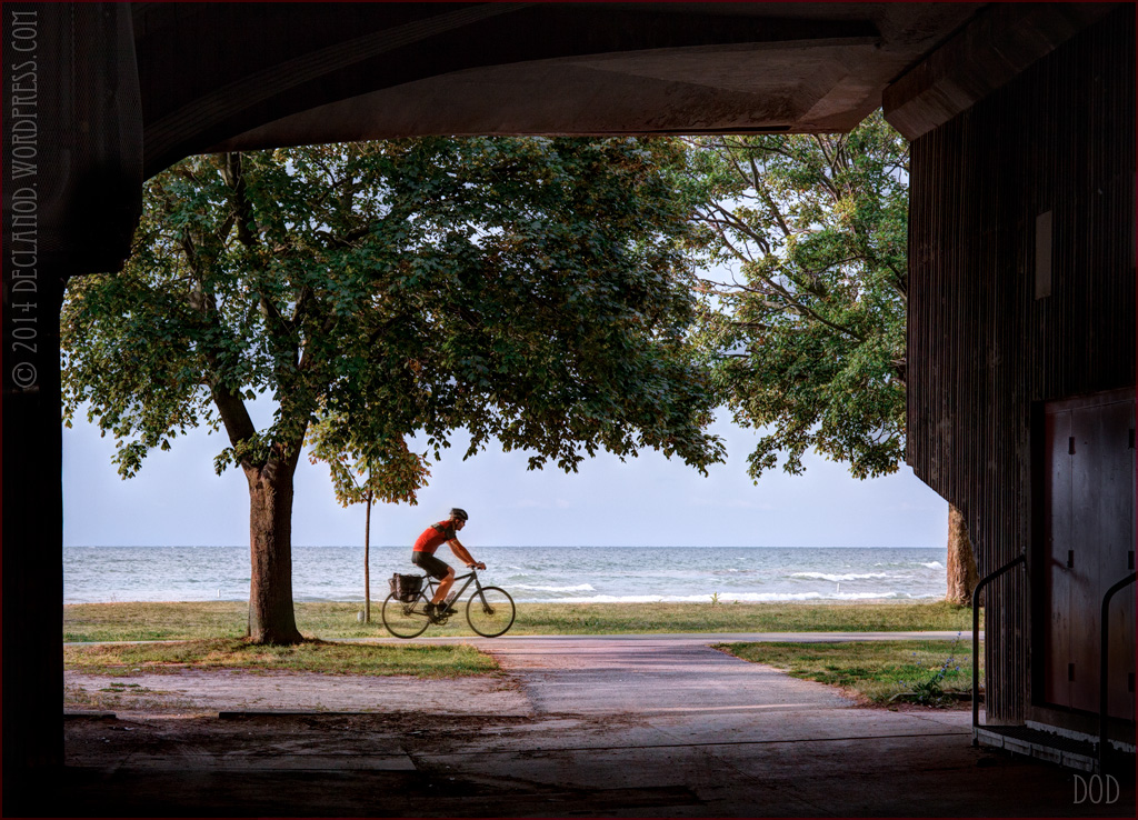 Beaches Toronto Canada biker bikes cyclist cycling red sports fitness healthy lifestyle commuter commuting