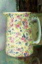 flower jug painterly painting